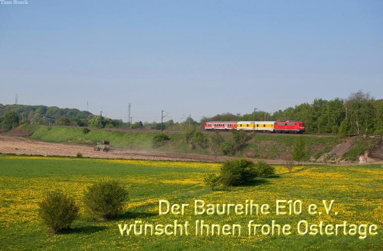 Der Baureihe E10 e.V. wünscht Ihnen ein frohe Ostern